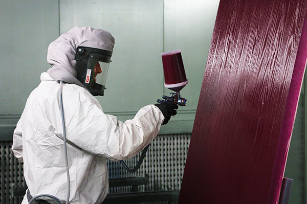 Phoenix specialist spray painting facility""