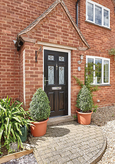 Sovereign Composite Door Black